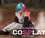 HOW TO PHOTOGRAPH A COSPLAY