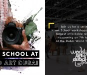 NIKON SCHOOL AT WORLD ART DUBAI