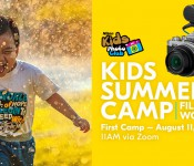 KIDS SUMMER CAMP l Film Making workshop l FIRST CAMP