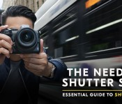 The need for SHUTTER speed