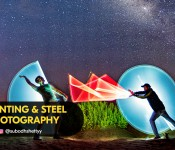 Light Painting & Steel Wool Photography